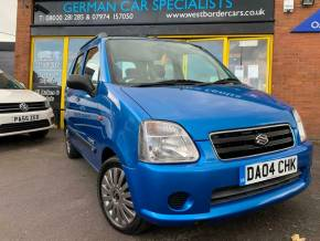 2004 (04) Suzuki Wagon R at West Border Cars Shrewsbury