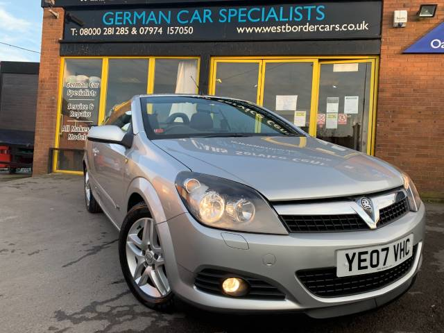 Vauxhall Astra 1.8 VVT Sport 2dr Convertible Petrol Silver