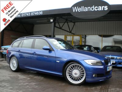 BMW Alpina 2.0 D3 Bi-Turbo Diesel Automatic Touring, F/S/H, VERY RARE OPPORTUNITY#15 MONTH WARRANTY INCLUDED Estate Diesel Le Mans Metallic BlueBMW Alpina 2.0 D3 Bi-Turbo Diesel Automatic Touring, F/S/H, VERY RARE OPPORTUNITY#15 MONTH WARRANTY INCLUDED Estate Diesel Le Mans Metallic Blue at Welland Cars Shrewsbury