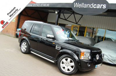 Land Rover Discovery 2.7 Td V6 Pursuit Limited Edition 5dr Auto, F/S/H,Leather,19`Alloys, Side Steps, 7 Seats,PTS. Estate Diesel Java Black MetallicLand Rover Discovery 2.7 Td V6 Pursuit Limited Edition 5dr Auto, F/S/H,Leather,19`Alloys, Side Steps, 7 Seats,PTS. Estate Diesel Java Black Metallic at Welland Cars Shrewsbury