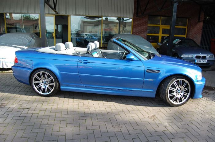 BMW M3 BMW 3.2 INDIVIDUAL EDITION CONVERTIBLE, HUGE SPEC,LOW MILEAGE,WARRANTY INCLUDED Convertible Petrol Estoril Blue Metallic