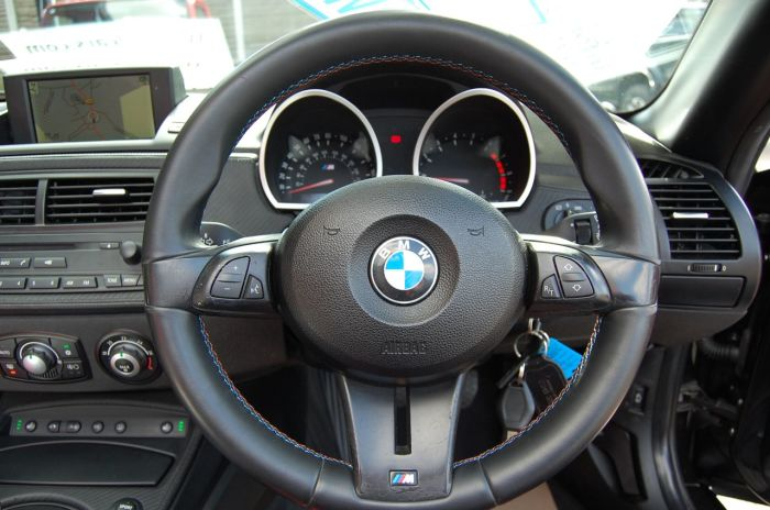BMW Z4m 3.2 ROADSTER, GENUINE M POWER CAR, LOW MILES, BLACK- RED LEATHER Convertible Petrol Black