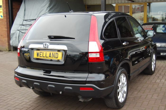 Honda CR-V 2.2 i-CTDI EX 4WD 6 SPEED SUV 4X4 - NAVIGATION FULL LEATHER PAN ROOF Estate Diesel Black