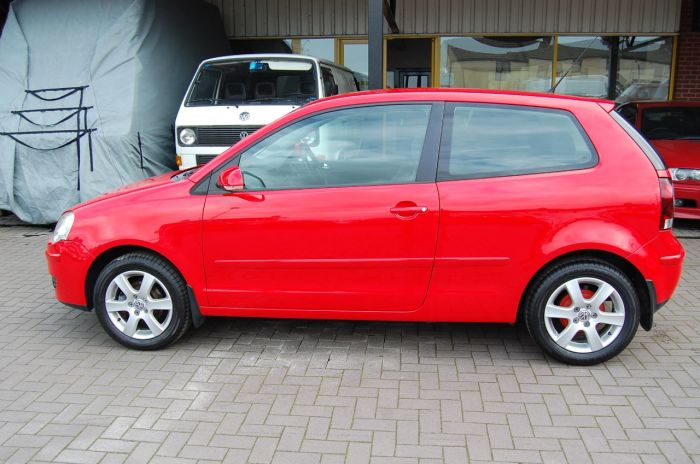 Volkswagen Polo POLO 1.4 MATCH 80 5 SPEED MANUAL FULL SERVICE HISTORY LOW MILEAGE ONLY 53 K Hatchback Petrol Red