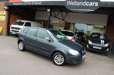 Volkswagen Polo 1.4 TDI S ONE FORMER KEEPER IDEAL FIRST CAR LOW TAX /INSURANCE Hatchback Diesel GreyVolkswagen Polo 1.4 TDI S ONE FORMER KEEPER IDEAL FIRST CAR LOW TAX /INSURANCE Hatchback Diesel Grey at Welland Cars Shrewsbury