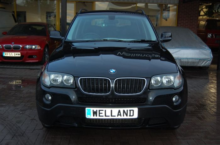 BMW X3 X DRIVE 2.0 SE TD 6 SPEED MANUAL 5 DOOR CLIMATE CONTROL CRUISE CONTROL Estate Diesel Sapphire Black Metallic